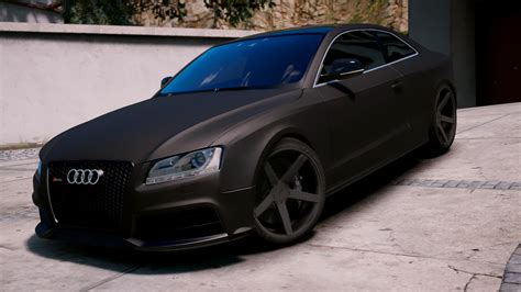 audi rs5 2011 audi rs5 2011 add on replace tuning gta5 mods