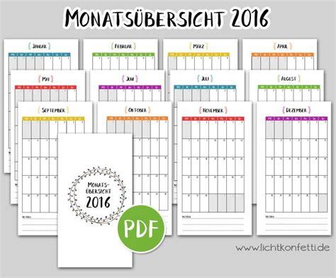 Kalender 2017 Monat 1000 Ideen Zu Kalender 2016 Ausdrucken Auf