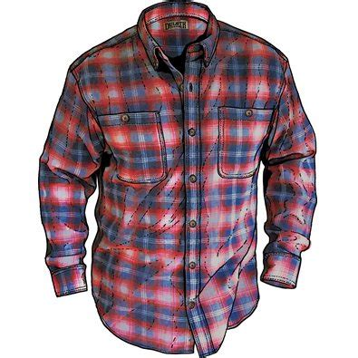 duluth trading free swinging flannel pin board 187 men s free swingin flannel f o m shirt