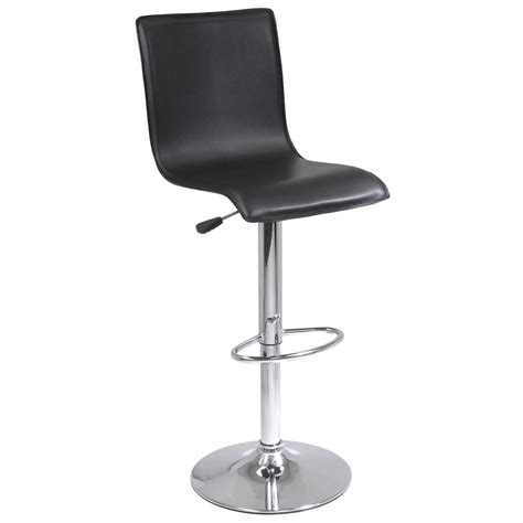 Winsome Airlift Bar Stool by Winsome 174 High Back L Shape Airlift Bar Stool 151236