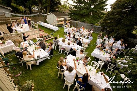 layout for backyard wedding 17 best images about backyard party layout ideas on