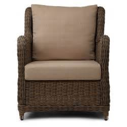 Wicker Chair And Ottoman by Alcee Resin Wicker Chair And Ottoman Set