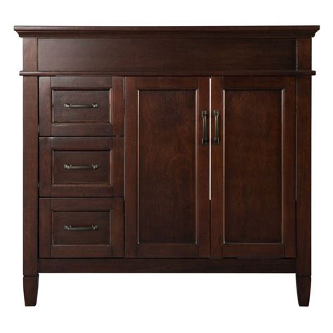 Home Depot Bathroom Vanities 36 Inch by Home Decorators Collection Ashburn 36 Inch Vanity The