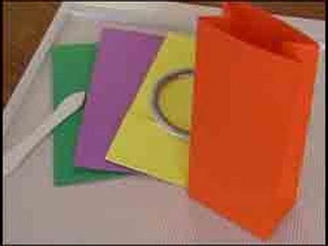 How To Make Small Paper Bags - small paper bag