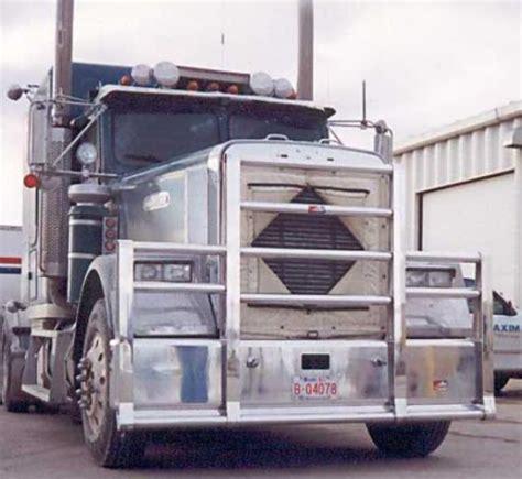 freightliner flc  bumper texas heavy duty semi truck bumper  ali arc  post moose