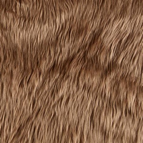 Best Buy Home Decor by Shannon Faux Fur Luxury Shag Cocoa Discount Designer