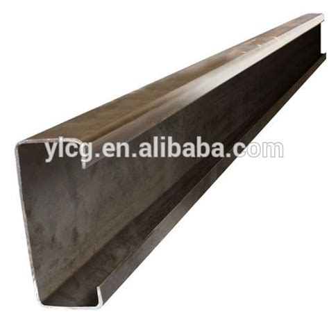 rolled steel channel sections q235 material cold rolled c steel profile section channel