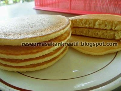 resep membuat pancake empuk resep pancake enak sederhana adonan praktis aneka resep