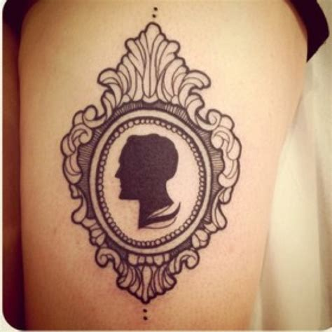 cameo tattoo queenie cameo pictures to pin on tattooskid