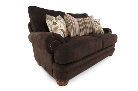 lane stanton sofa lane stanton chocolate loveseat mathis brothers furniture