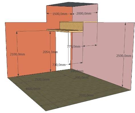 hauteur sous plafond lit mezzanine 4676 realiser un quot meuble escalier quot forum menuiseries