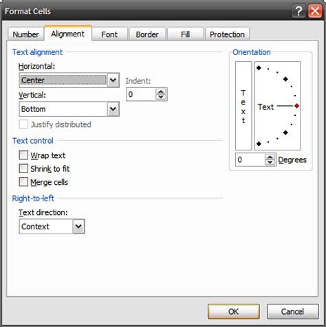 format cell alignment excel 2007 quick tip align cells in excel 2007