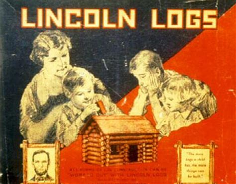 lincoln s middle name were lincoln logs not actually named after abraham lincoln