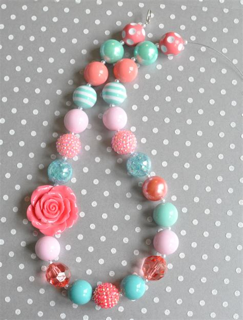 chunky bead necklace supplies chunky bead necklace tutorial boutique craft supplies