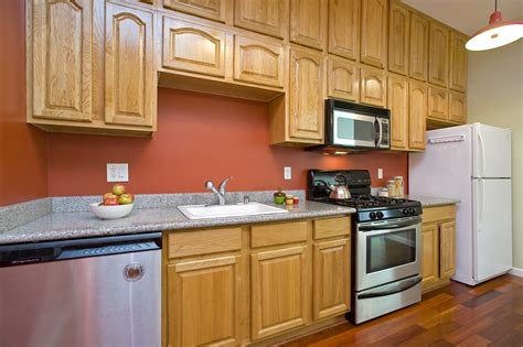 outdated kitchen cabinets most bang per buck paint kitchen cabinets real estate