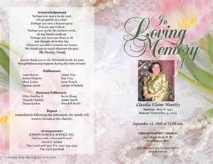 sample funeral program template 30 download free