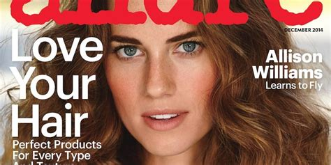 allison williams nose allison williams gets real about weight loss in