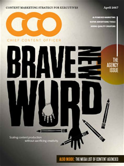 Cover Cco cco chief content officer magazine