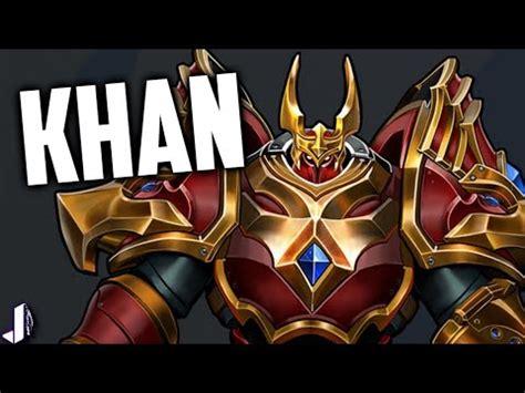 khan paladins new champion insane throws + infinite