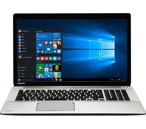 toshiba satellite p    laptop silver deals