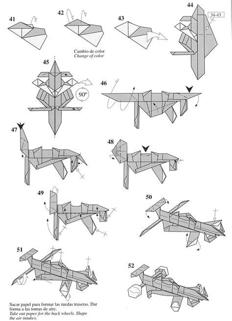 como aser un carrito de facil c 243 como hacer un carro de origami papel papiroflexia para tod