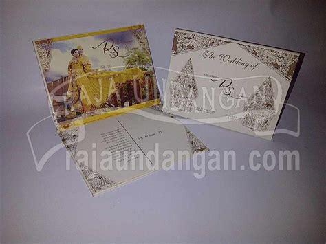 Kertas Blangko Undangan Falah 64 Murah undangan pernikahan hardcover motif wayang rani dan sudirman edc 64