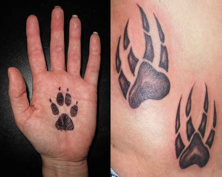 paw print tattoos ideas designs amp pictures tattoo me now