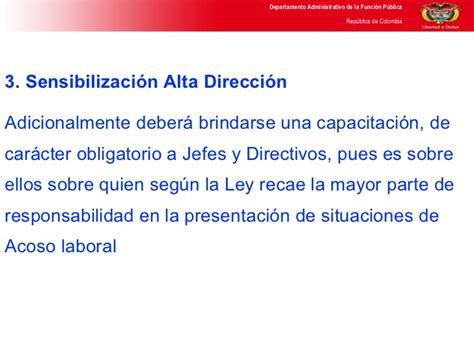 ley n 1340 ley de 28 mayo de 1992 jaime paz zamora ley de acoso laboral en colombia