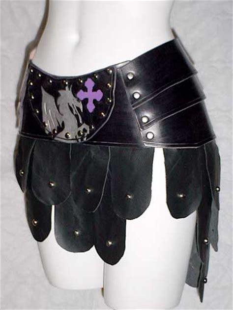 scaled skirt