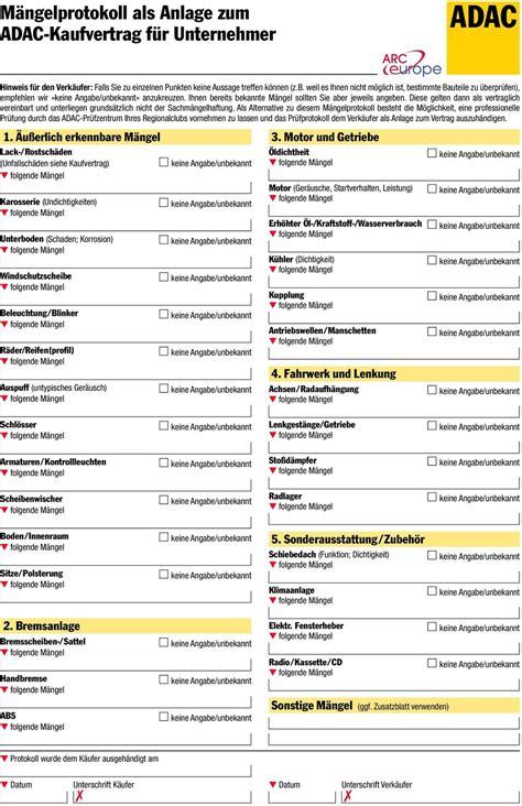 Auto Kaufvertrag Privat Vordruck by Auto Kaufvertrag Privat Muster Formular Autoverkauf Png