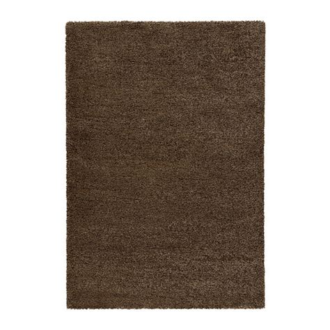 ikea rungs 197 dum rug high pile light brown 200x300 cm ikea