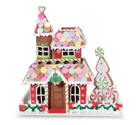 buy a gingerbread house kit foam gingerbread house crafts