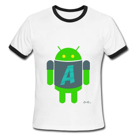 Android Tshirt Android a for android t shirt spreadshirt
