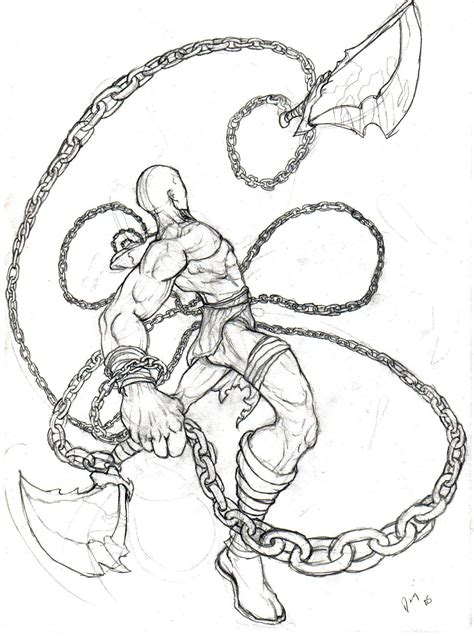 imagenes de kratos para dibujar faciles kratos el dios de la guerra god of war taringa