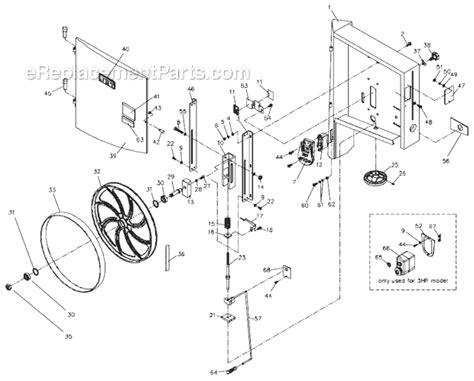 Jet Jwbs 18qt 3 Parts List And Diagram 710751b