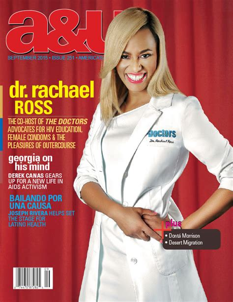 dr rachael ross says no to ring with the ex wendy dr rachael ross cover story a u magazine