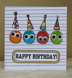Childrens Handmade Cards - birthday cards for to make