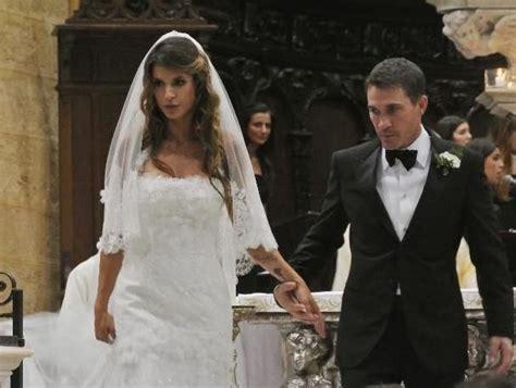 elisabetta canalis wedding dress eli e brian elisabetta canalis brian perry sposi pinterest