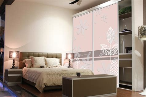 interior design master bedroom with wardrobe