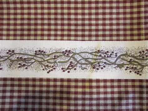 berry vine curtains country house berry vine valance