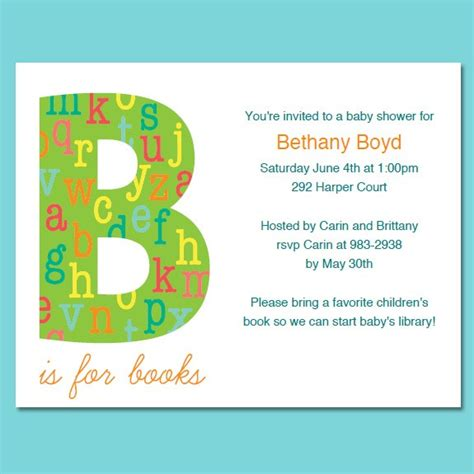 baby shower booklet template book themed baby shower invitations template best