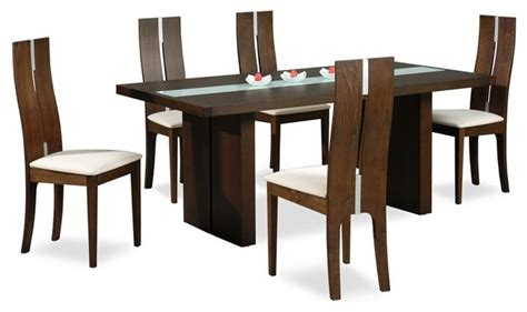 modern glass top dining table sets high class glass top 5 dining set with chairs