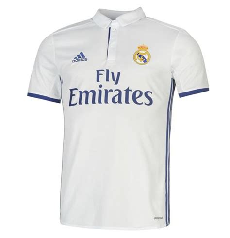 Tshirtt Shirtkaos Adidas Real Madrid 2016 2017 real madrid adidas home football shirt for only