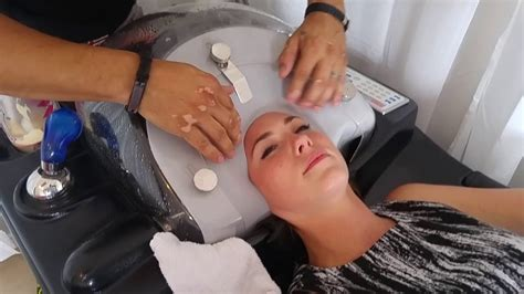 How To Wash Your Hair In The Sink by Robotic Hair Wash Sink For Hair Salons