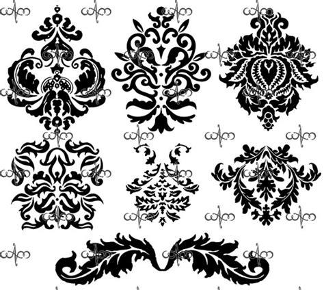 damask pattern font damask clip art 2 graphic design pattern clipart for