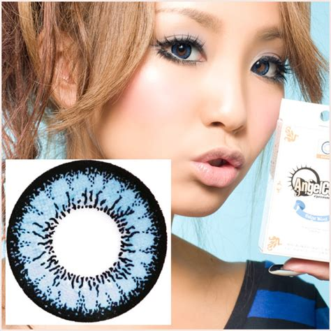 angelcontacts geo angel blue circle lens angelic beauty barbie eyeballs say hi to circle lenses just 11 90