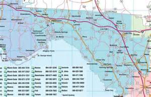 map of northwest florida cities florida road map florida backroads travel has 9 of them
