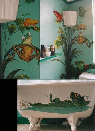 exceptional Picture Wall Decor Ideas #3: fun-frog-bath-item.jpg