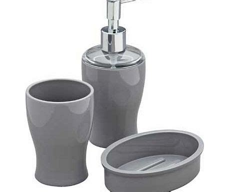 grey bathroom accessories set colourmatch bathroom accessories set smoke grey review