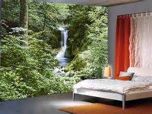 Waterfall Wall Mural waterfall in spring 8 sheet waterfall wall mural buy online